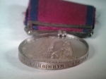War of 1812  medal awarded to a Native soldier.