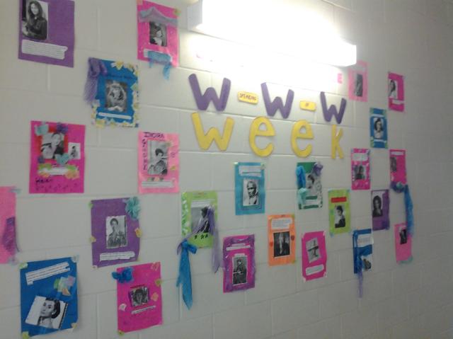 WWW Week girls self esteem group poster campaign